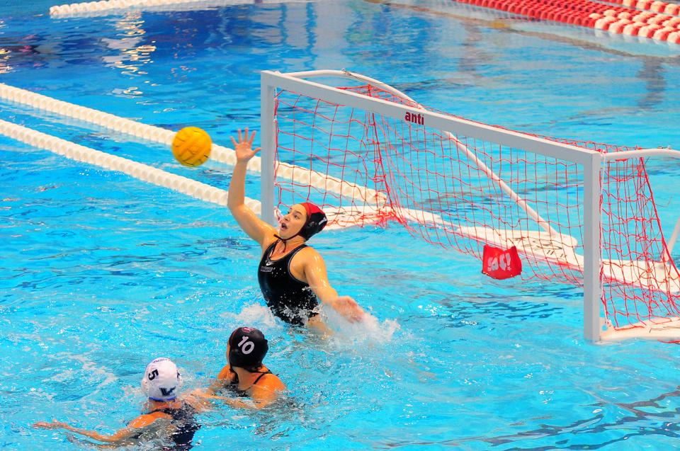 Sophomore goalie Ariel Dukes posted 246 saves as the women's water polo team finished 18-16. Last year, Dukes only tallied 193 stops.