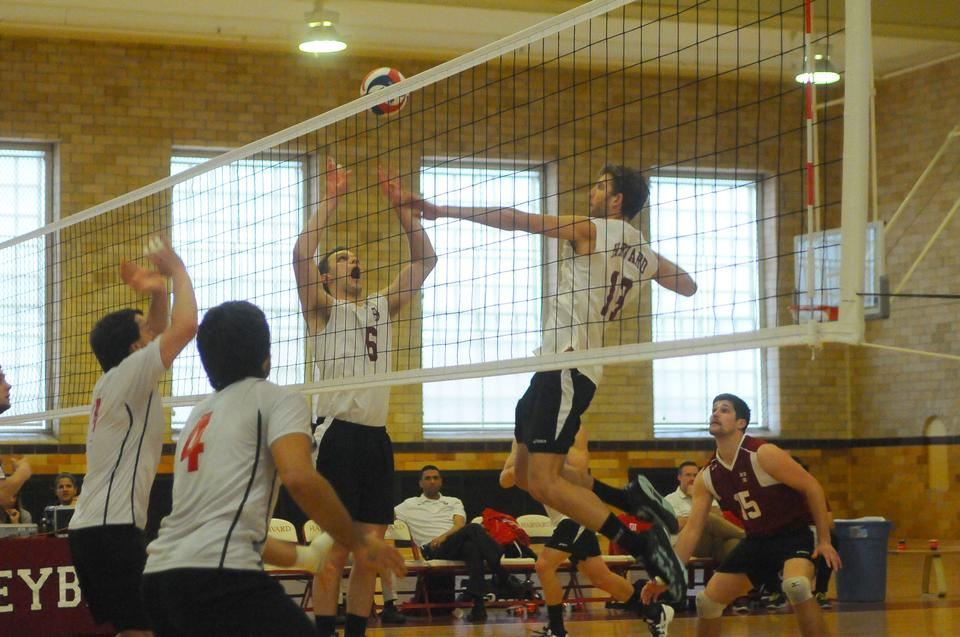 Led by sophomore outside hitter DJ White, who had a team-best 239 kills in 2013, the Harvard men's volleyball team finished with an 18-9 record on the season, highlighted by an upset of No. 9 Penn State.