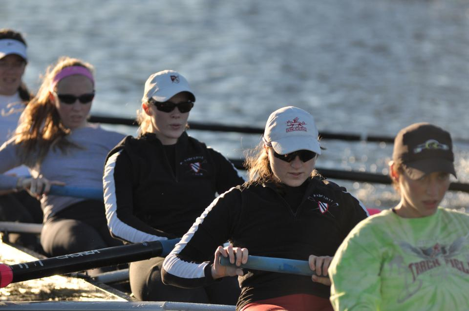 Although the season is not yet over, the Radcliffe lightweight team has already made history. The team's victory at the Head of the Charles was the squad's first ever win in the event.