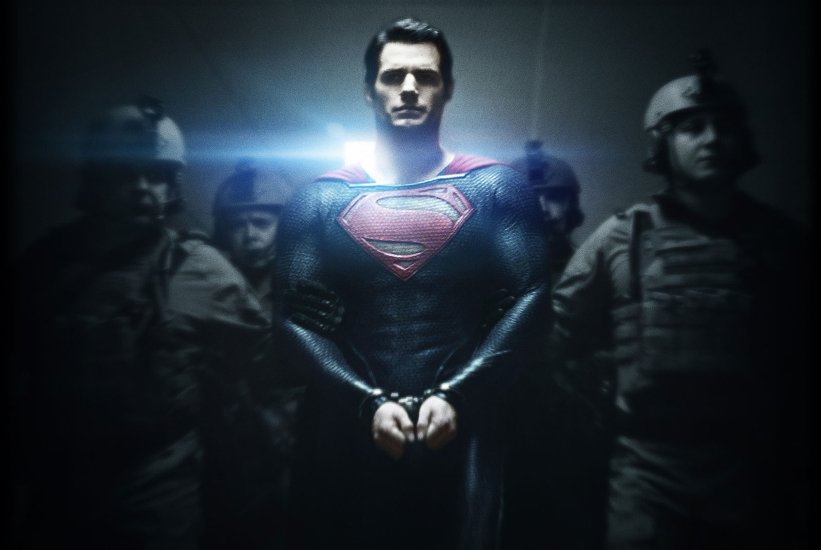 Henry Cavill's Superman saves the film, as well as a bus of schoolchildren.