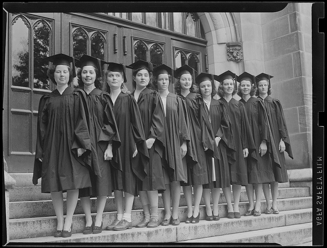 Wellesley girls, ~1942.