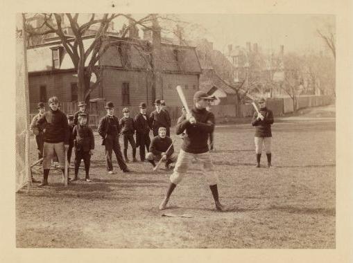 Harvard Baseball in the early 1900's