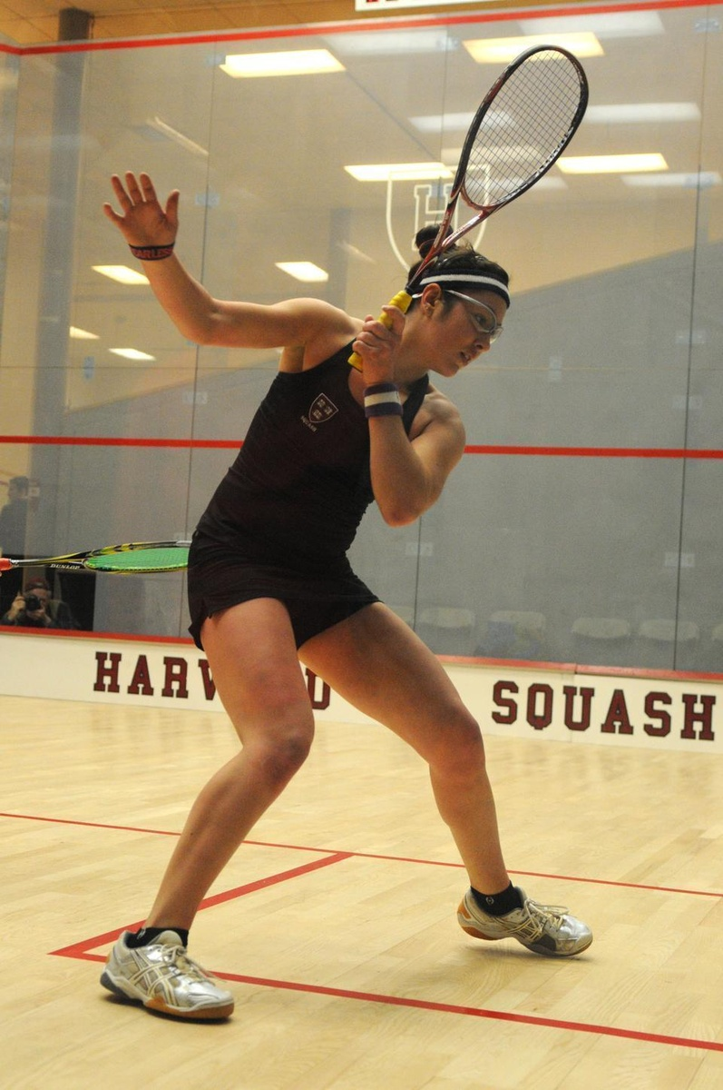 Amanda Sobhy, shown here in previous action, captured her third consecutive national title on Sunday.