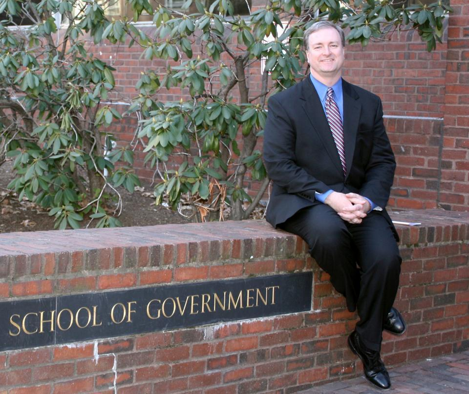 Director of the John F. Kennedy School of Government Trey Grayson, pictured above in 2011, has announced that he will be stepping down from the position.