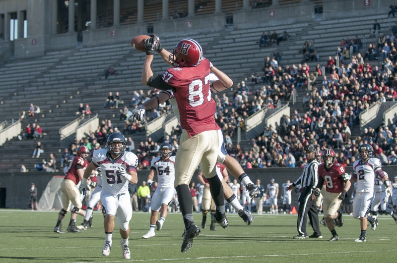 Senior Cam Brate was one of four Crimson football players to sign with NFL teams this past weekend.