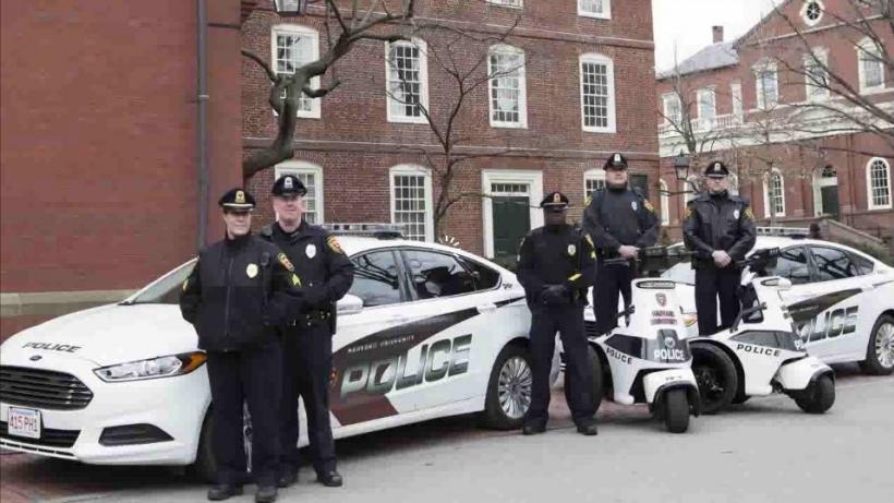 Harvard University Police Department officers
