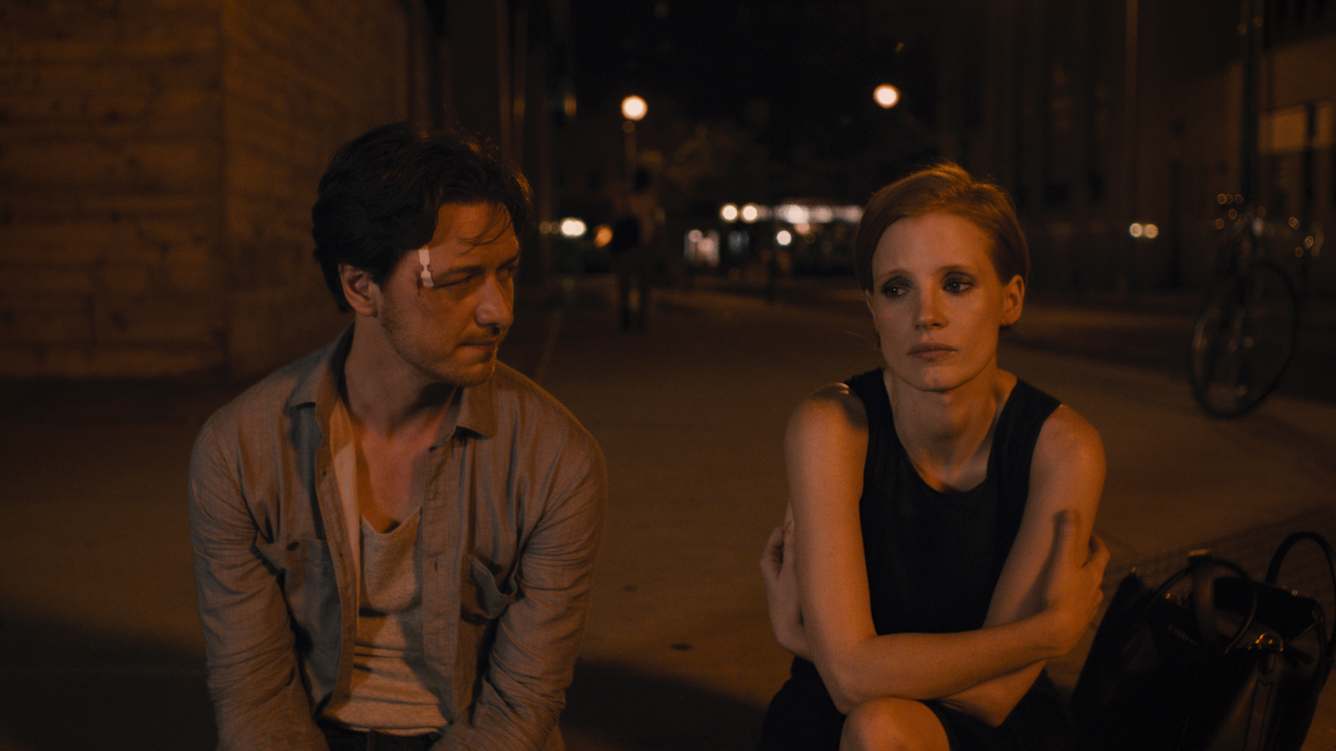 """James McAvoy and Jessica Chastain star in """"The Disappearance of Eleanor Rigby,"""" directed by Ned Benson."""
