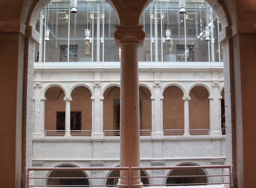 Designed by Renzo Piano, the newly renovated Fogg building houses all three branches of Harvard Art Museums under one roof.