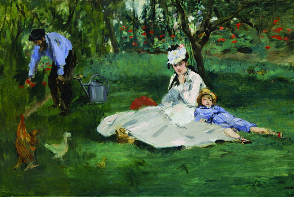The Met loaned this Manet painting to MFA, Boston