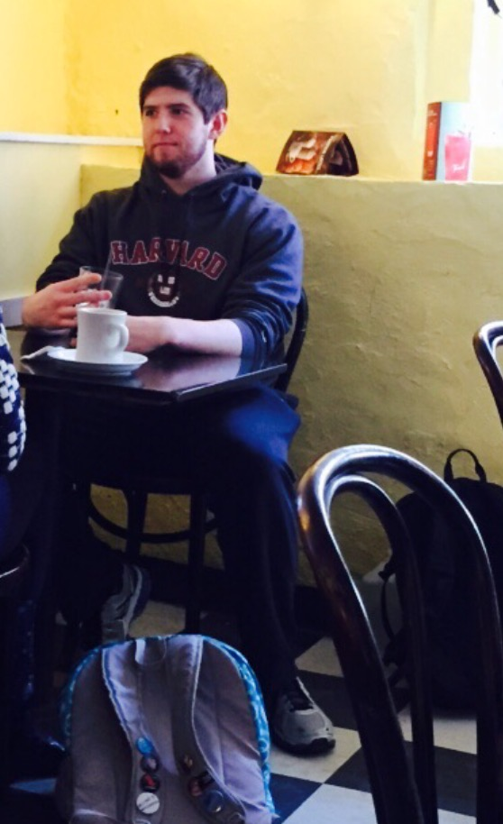 We caught our staff writer Chris out on his Datamatch date and decided to snap a pic. You're welcome, Chris.