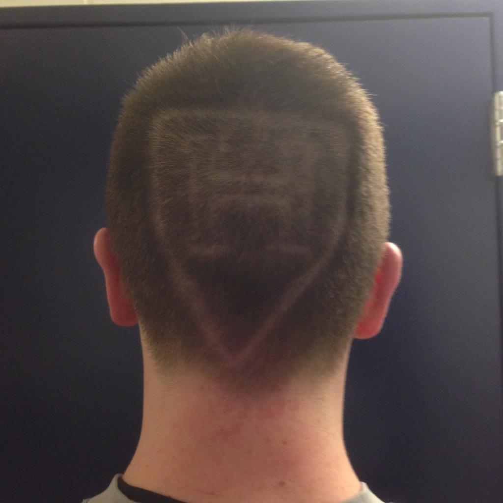 Jimmy Vesey's new haircut.