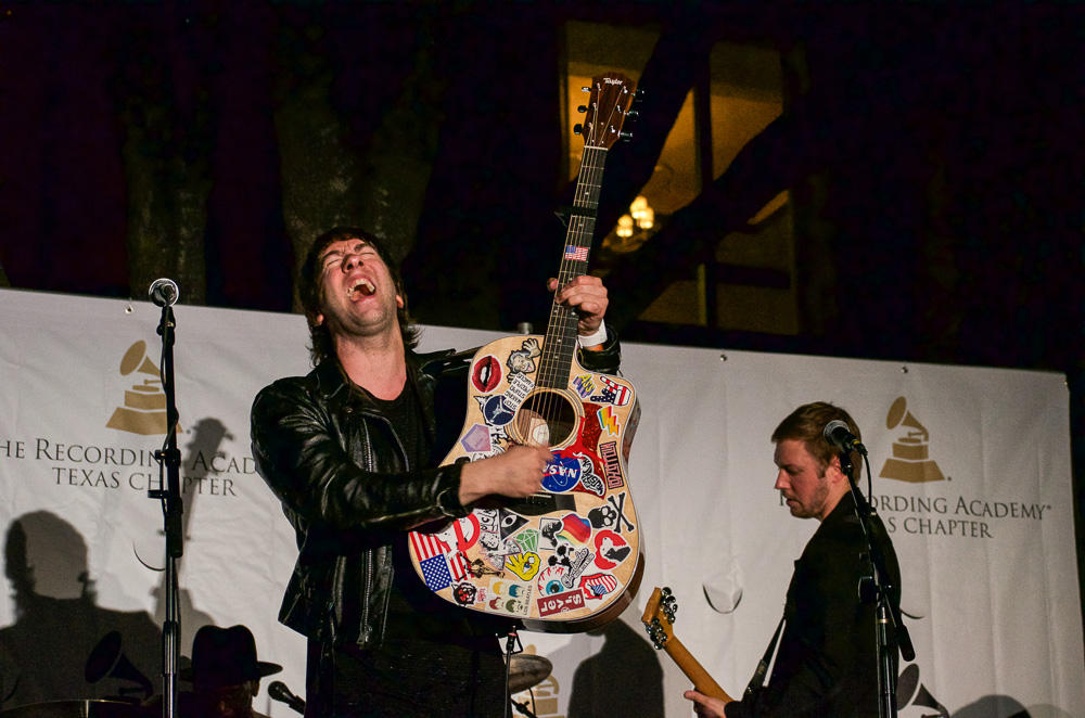 I got to see the Plain White T's play at a party during the South by Southwest festival in Austin, Texas.
