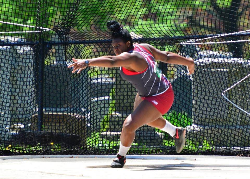 Rising senior Nikki Okwelogu will represent Nigeria in the shot put at the 2016 Olympics.