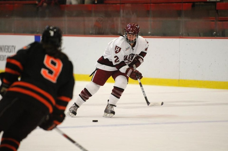 Josephine Pucci came back to Harvard midway through the season after playing in the 2014 Sochi Olympics for Team USA.