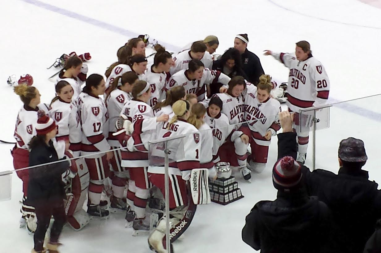 After being routed by Boston College earlier in the year, the Crimson got its revenge in the Beanpot final, defeating then then-No.1 ranked Eagles, 3-2.