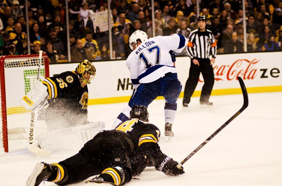 Former Harvard hockey star Alexander Killorn '12 has established himself as an important member of the NHL's Tampa Bay Lightning.