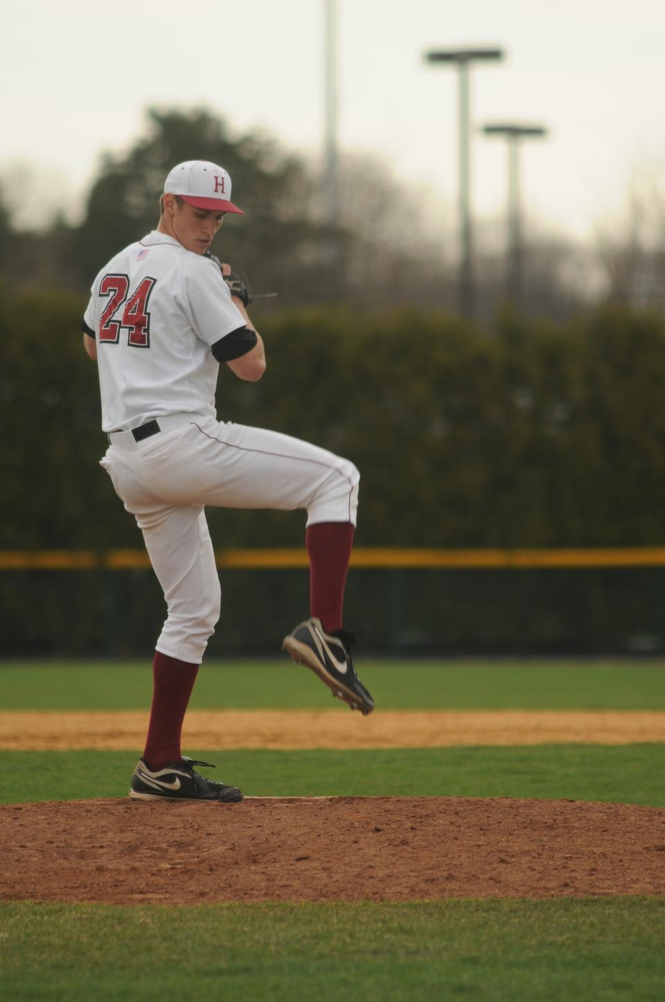 Former Harvard pitcher Brent Suter '12 was selected by the Milwaukee Brewers in the 2012 draft.