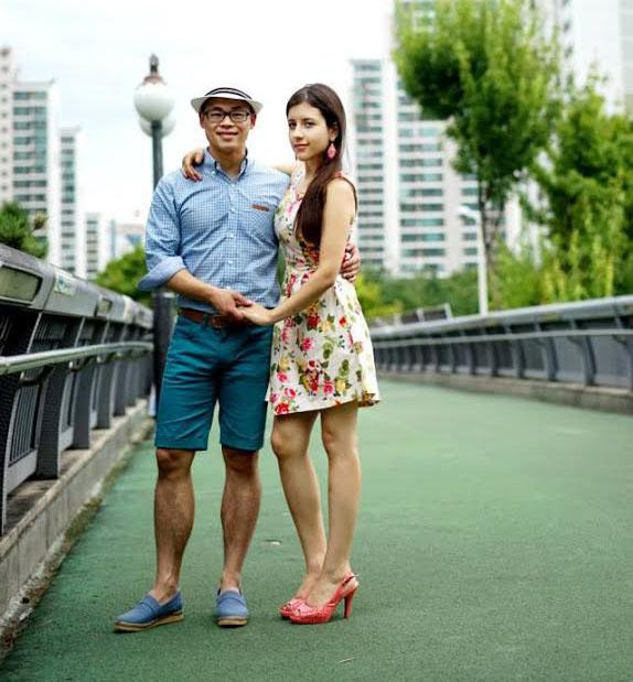 Dina M. Perez '15 and Moonhyung Kang