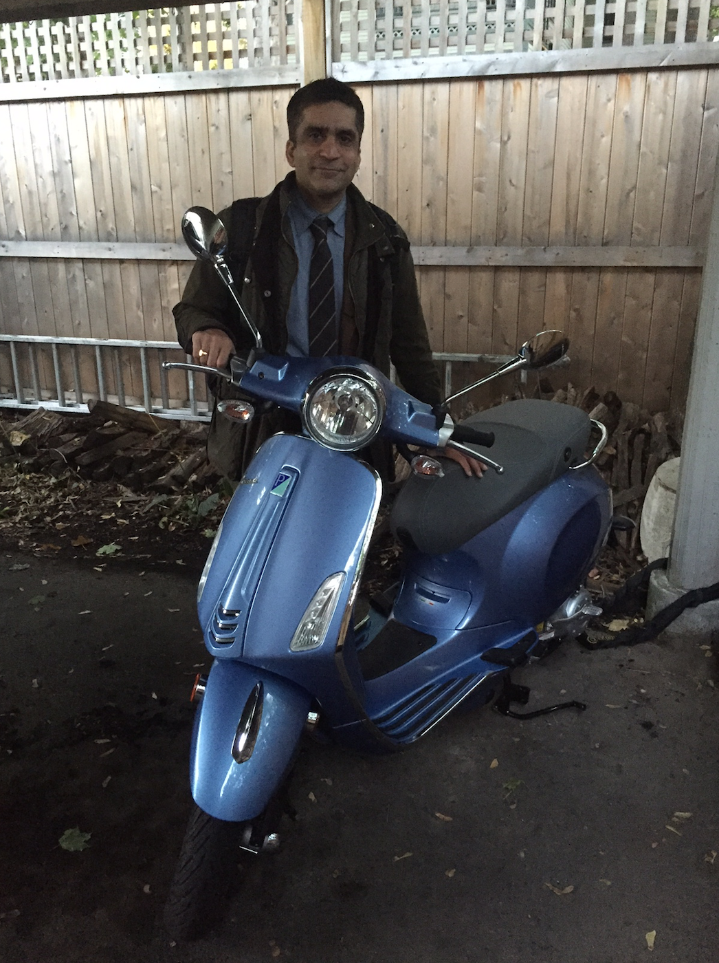 Dean Khurana and his sweet new ride.