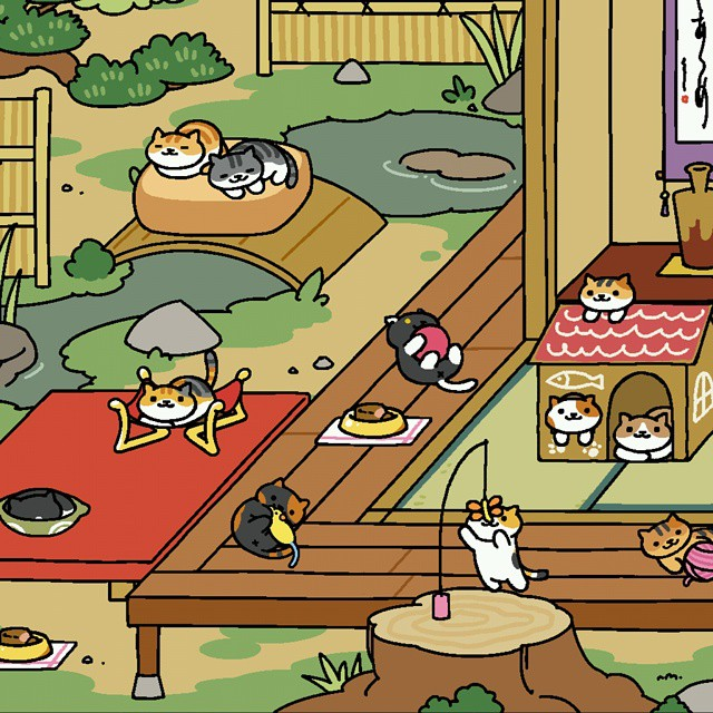 What The Hell Happened Neko Atsume Kitty Collector Arts