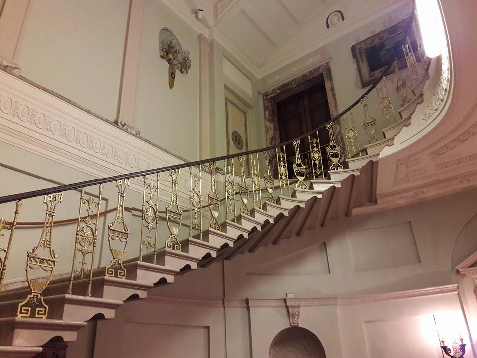 Haunted Floating Staircase