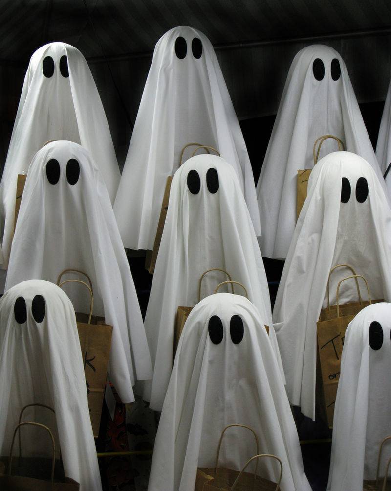 Some ghosts.
