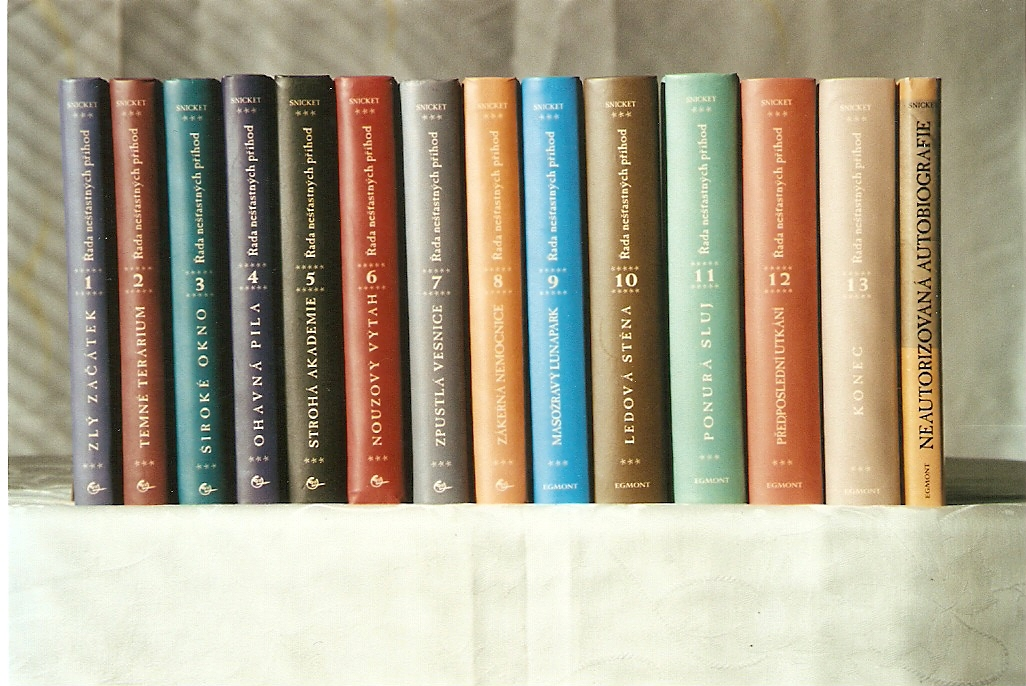 Row of Snicket's Books