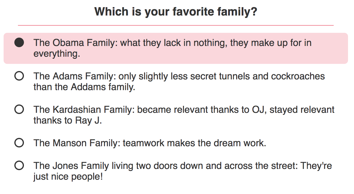 It's no secret that the Obama family is our fave.