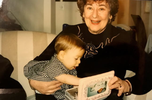 Maia R. Silber and her grandmother Frances Silber.