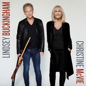 Lindsey Buckingham/Christine McVie album cover.