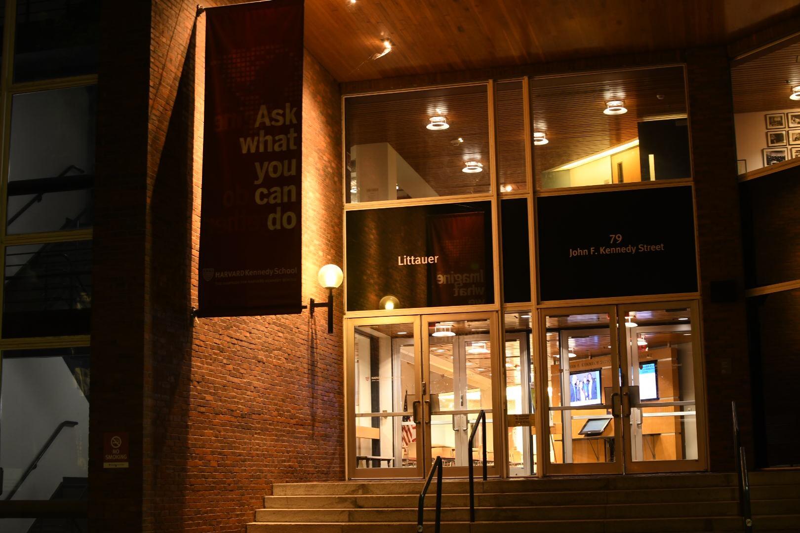 The Harvard Institute of Politics.