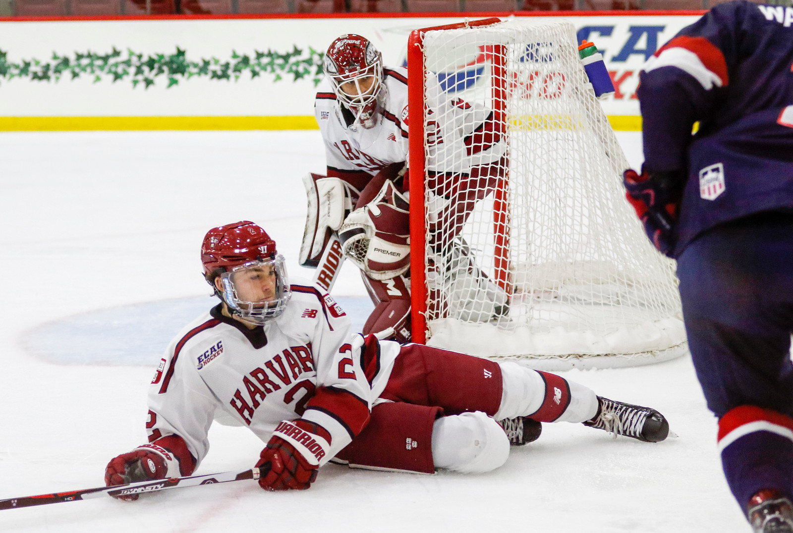 Harvard hopes to slide into its nine-game away stretch after nabbing wins against ECAC foes Yale and Brown this weekend. For the Crimson, not only the four points are on the line, as this weekend is the last chance the team gets to shore up its play before hitting the road.