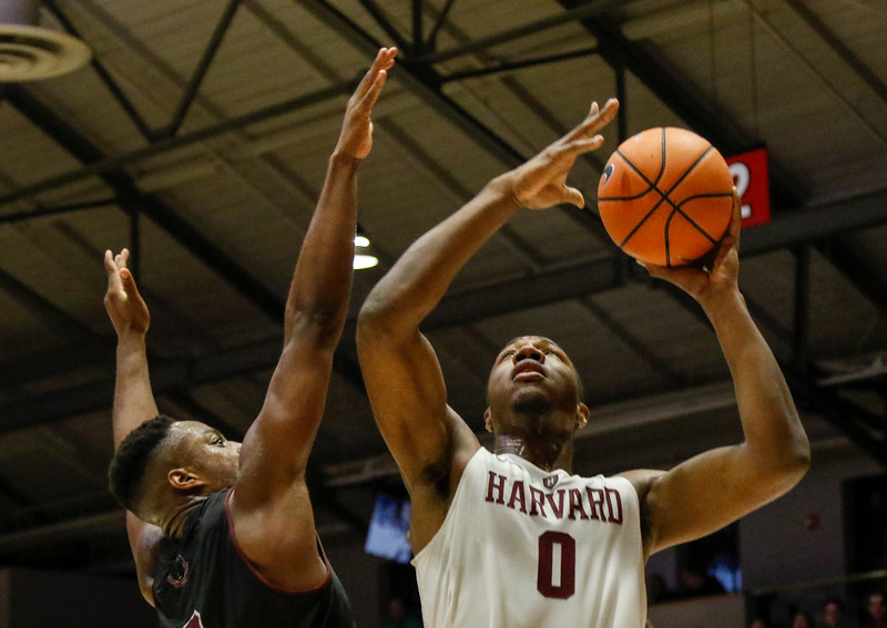 Despite 18 points from sophomore Chris Lewis and 22 from classmate Bryce Aiken, Harvard couldn't overcome a difficult first half en route to a 89-71 loss to St. Mary's