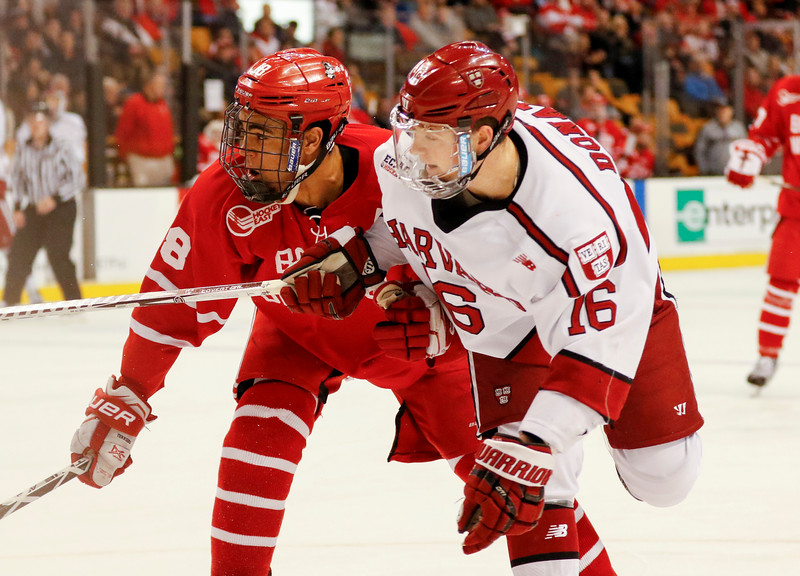 The Crimson's Ryan Donato and BU's Jordan Greenway may have been foes during the Beanpot but will be teammates on the American squad at the 2018 Winter Olympics.