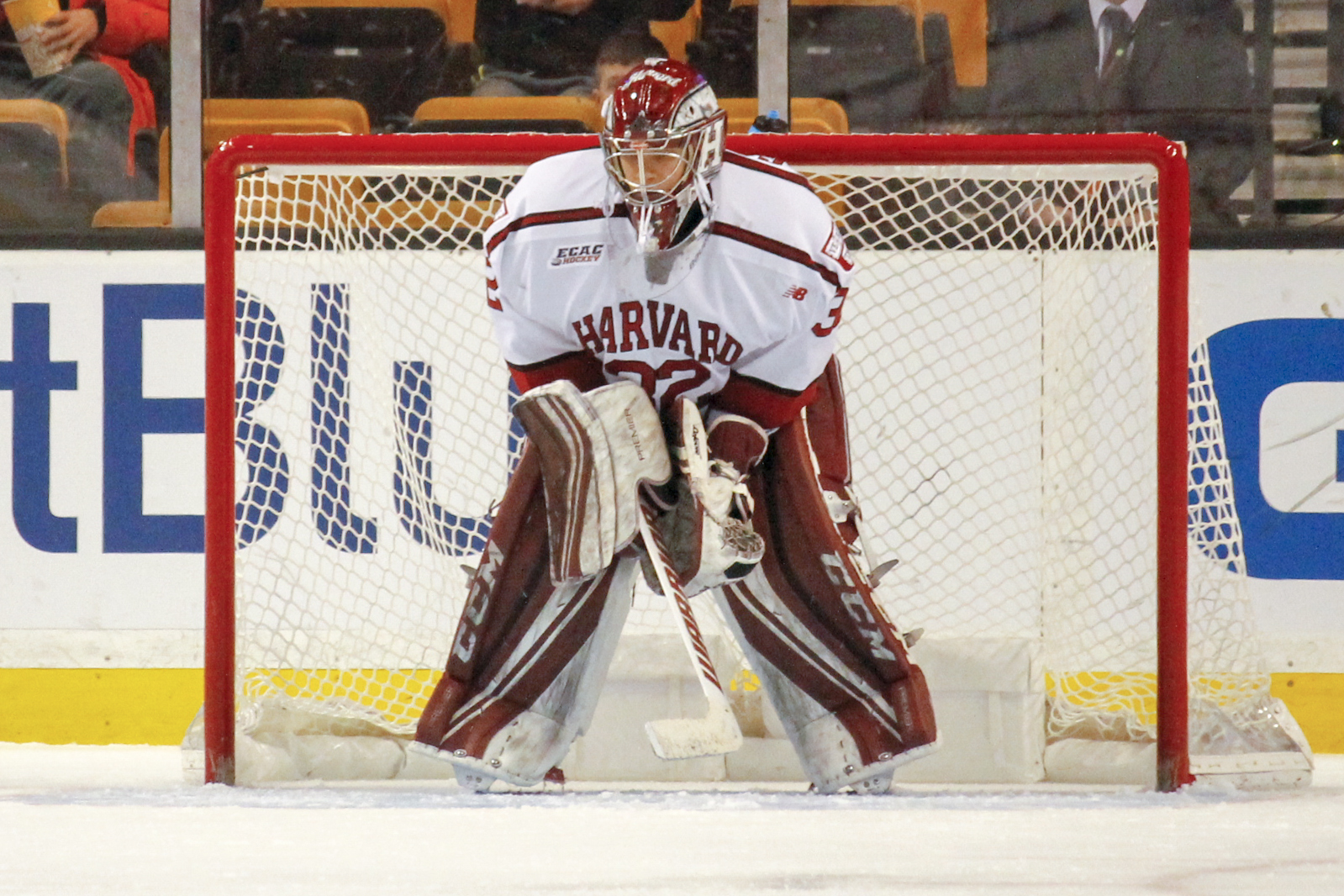 Sophomore net-minder Cameron Gornet was a surprise starter in Monday's Beanpot consolation game against BC, making his first career start.