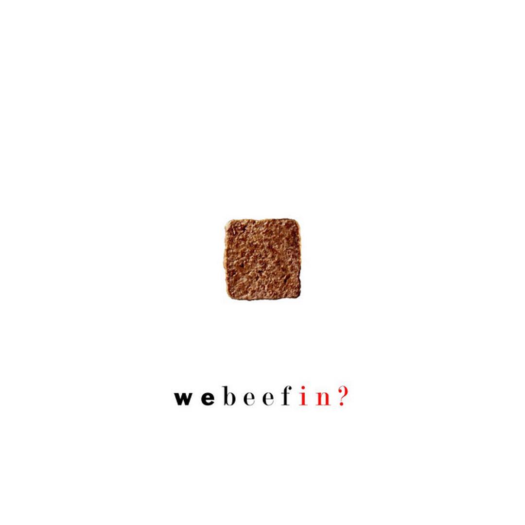 """The """"We Beefin?"""" mixtape cover."""