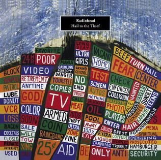 Hail to the Thief album cover