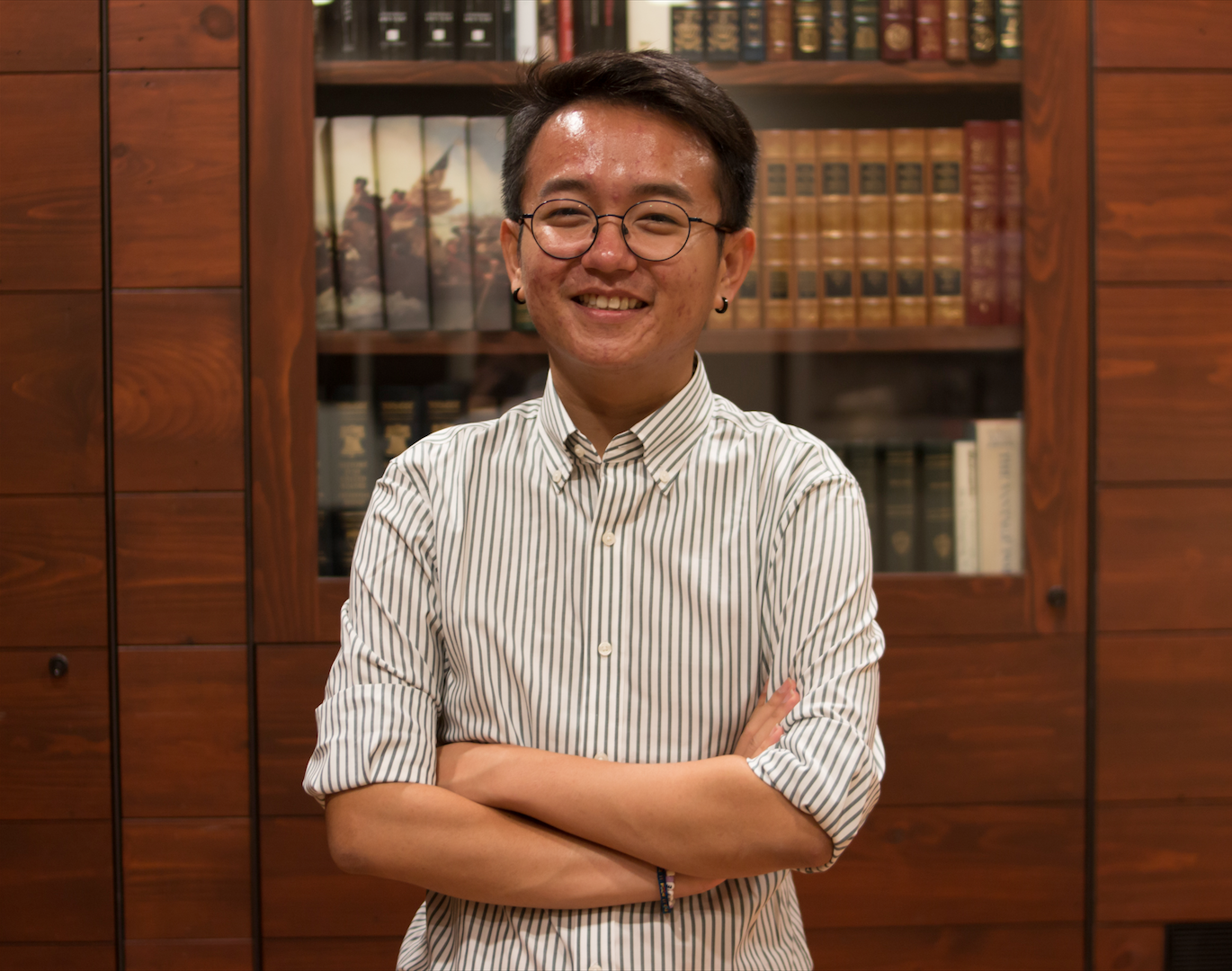 Thang Q. Diep '19 filed his marked-up Harvard application in court in an effort to help the University combat a lawsuit alleging it discriminates against Asian-American applicants.
