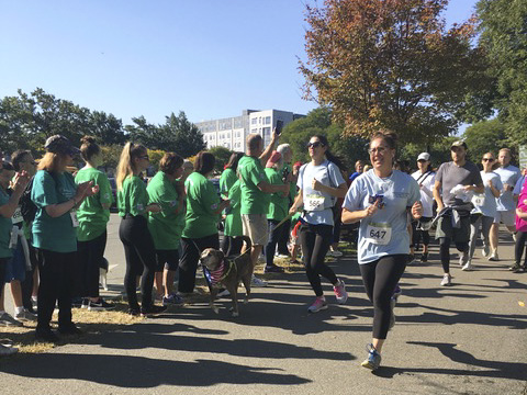 Over a dozen Harvard students ran the Samaritans 5K for Suicide Prevention in honor of Alexander H. Patel '17-'18.