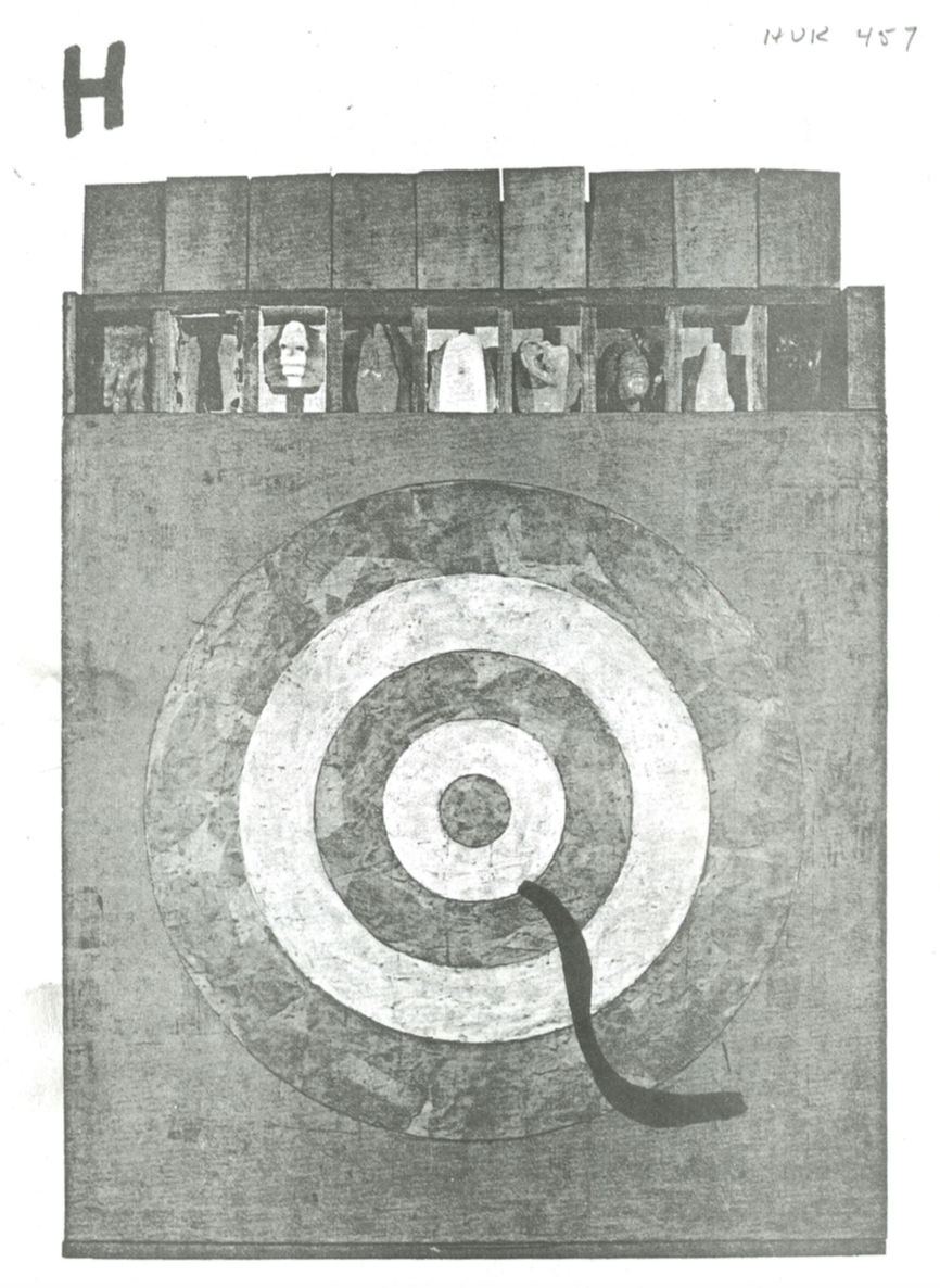 The cover of HQ, a 1990s queer student publication.