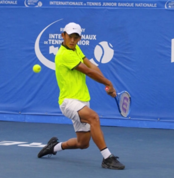 Shi began playing tennis at age five and credits his first coach, Mihai Grecu, with his dedication to the game.