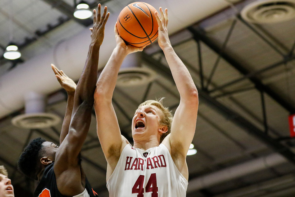 Junior big Henry Welsh looks to compete for minutes off the Crimson bench this season.