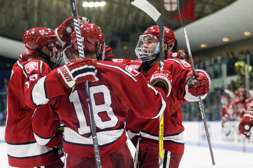 Harvard's 40.9% power play efficiency is second only to Princeton in the NCAA. The Crimson can thank Reilly Walsh for much of that, as his team-leading four goals this season have all come on the man advantage.