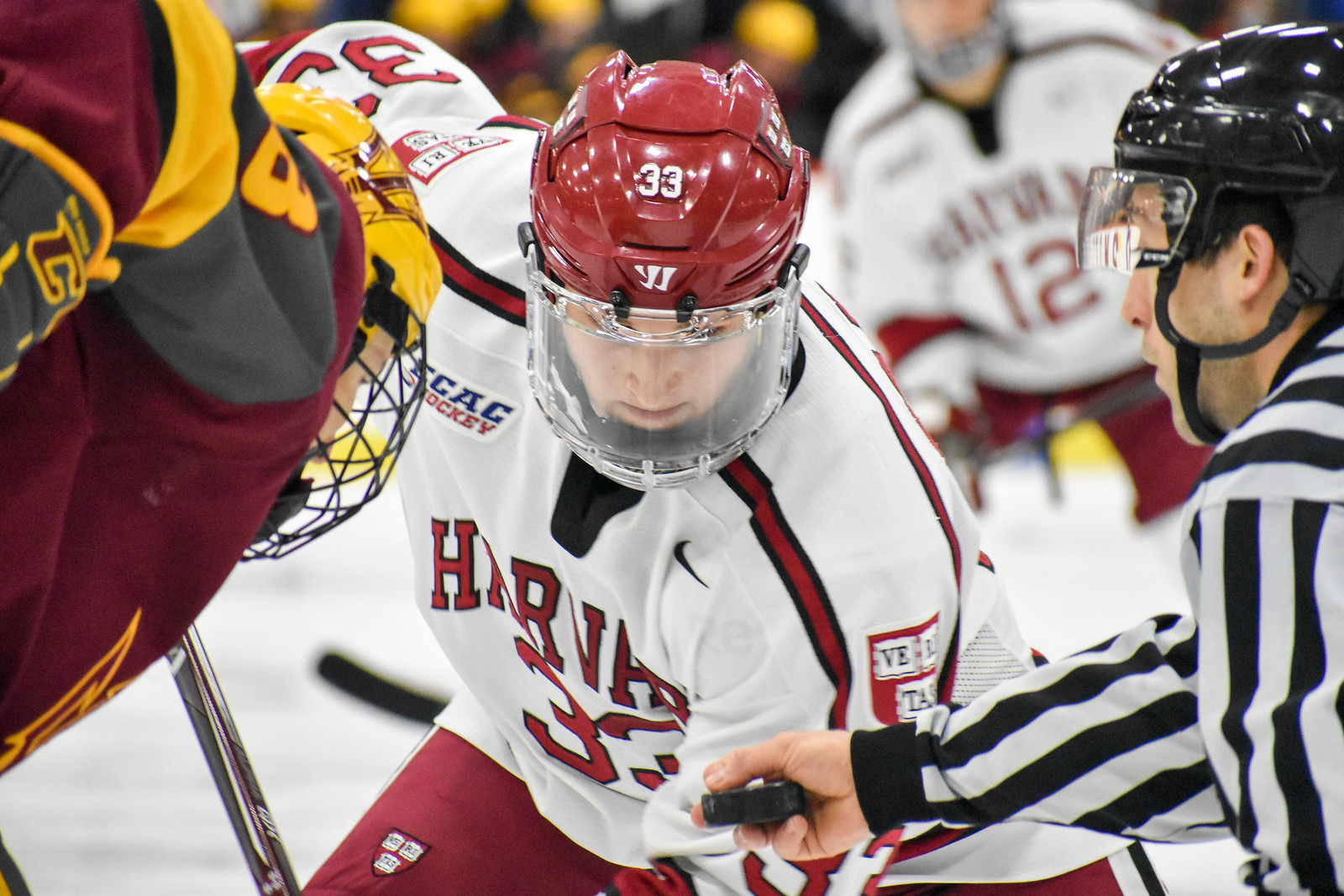 The Crimson walked away from the weekend with just two points despite carrying play for much of the back-to-back.