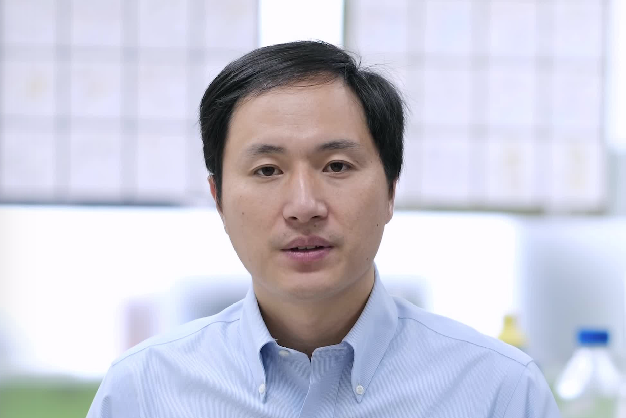 He Jiankui claims to have generated the world's first gene-edited babies.