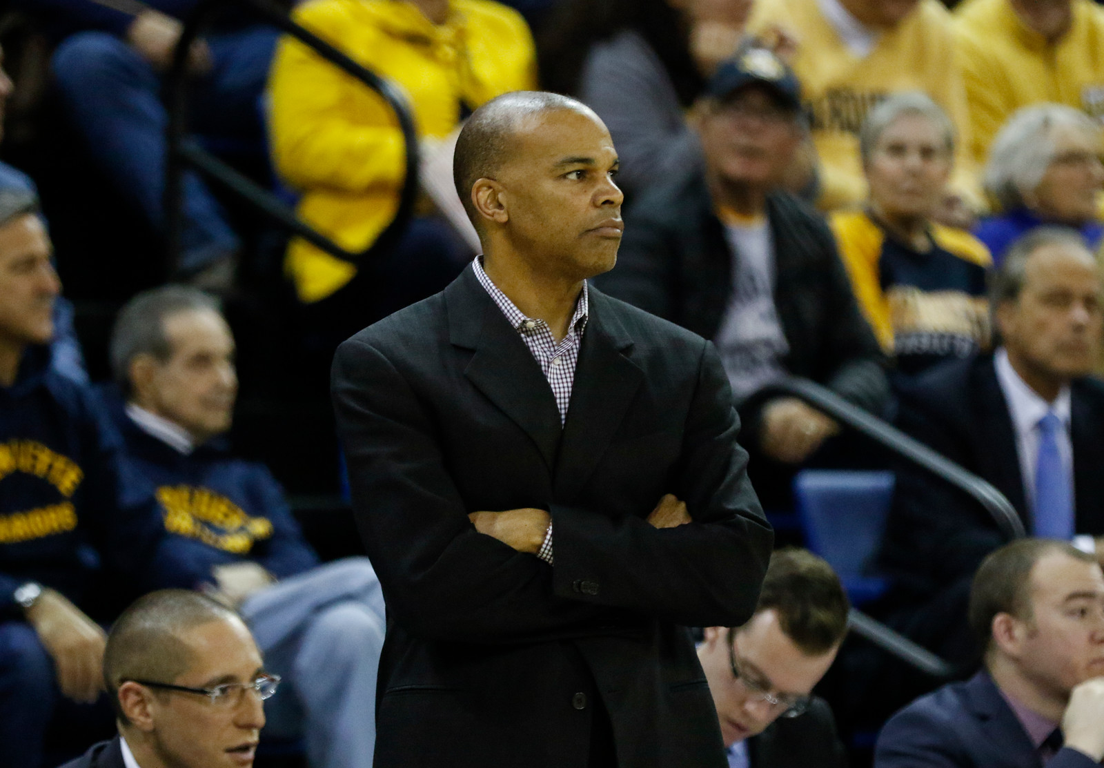 Tommy Amaker played in two games at then-newly constructed Dean Smith Center in his illustrious collegiate career at Duke.