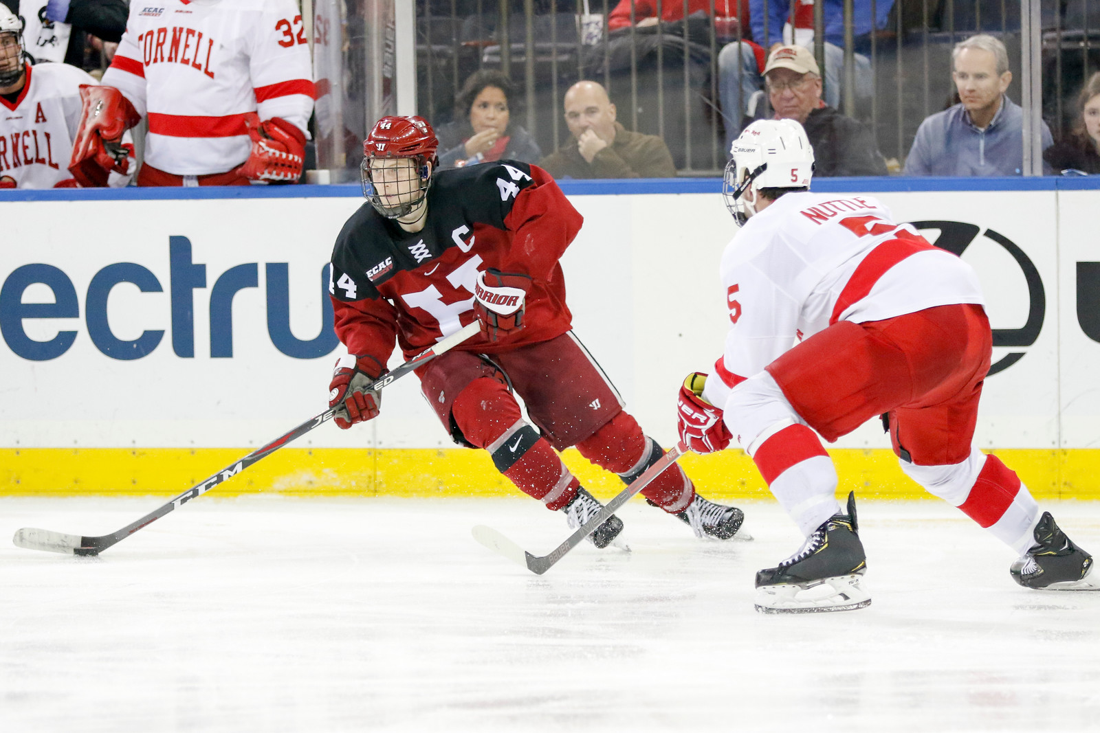 The Crimson and the Big Red will clash for a third time this season when Harvard visits Cornell this Friday.