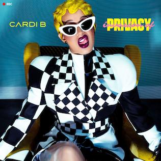"Cardi B, ""Invasion of Privacy."" Photo courtesy of Atlantic Records/Cardi B"