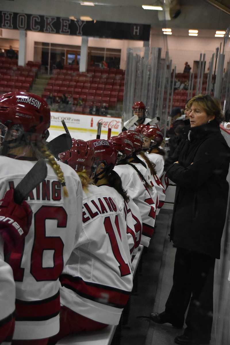Katey Stone has no shortage of experience, as she closes out her 24th season at the helm.