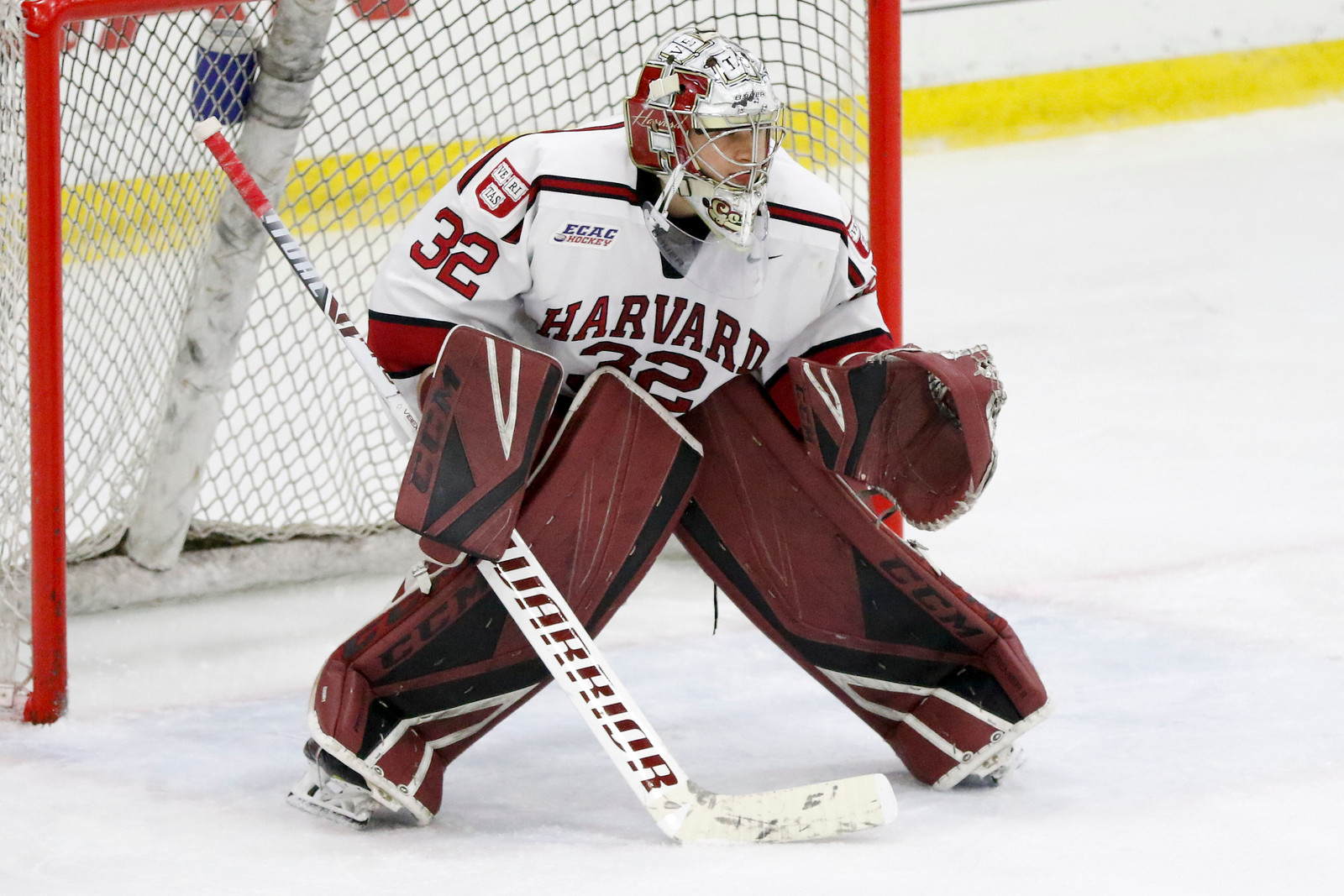 Junior Cameron Gornet has stepped up to fill the void in the crease left by an injured Michael Lackey. His play has maintained consistency for the Crimson, preventing the season from imploding down the stretch without the starting net-minder.